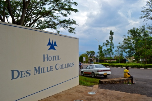Mille Collines, L'hotel